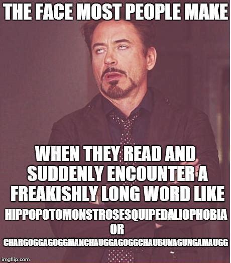 Word Memes - long words imgflip