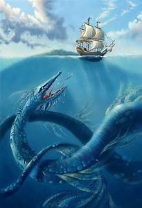 134 best Sea Monsters images on Pinterest | Fantasy ...