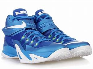 Nike Zoom LeBron Soldier 8 - Photo Blue - White - Volt ...