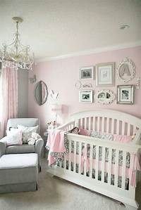 baby rooms for girls Decorating Ideas For Baby Girl Nursery - Wall Decor | Editeestrela Design