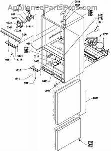 Parts For Amana Bx21tw    P1196515w W  Controls  U0026 Light