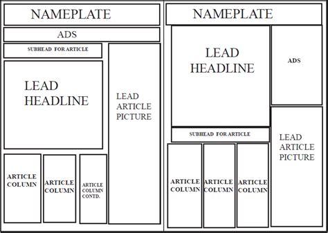 newspaper layout template lambeth press local newspaper newspaper layout for lambeth press