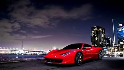 Ferrari Night Italia Desktop Widescreen Savage Wallpapers