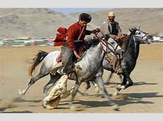 BUZKASHI Kyrgyzstan And Decapitated Goats • Lazer Horse