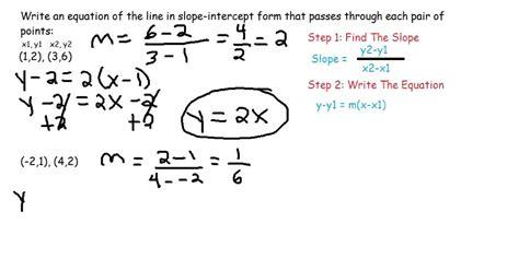 Slope Equation Formula Tessshebaylo