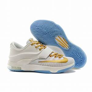 "Online For Sale Nike KD 7 (VII) ""Finals"" White/Gold On ..."