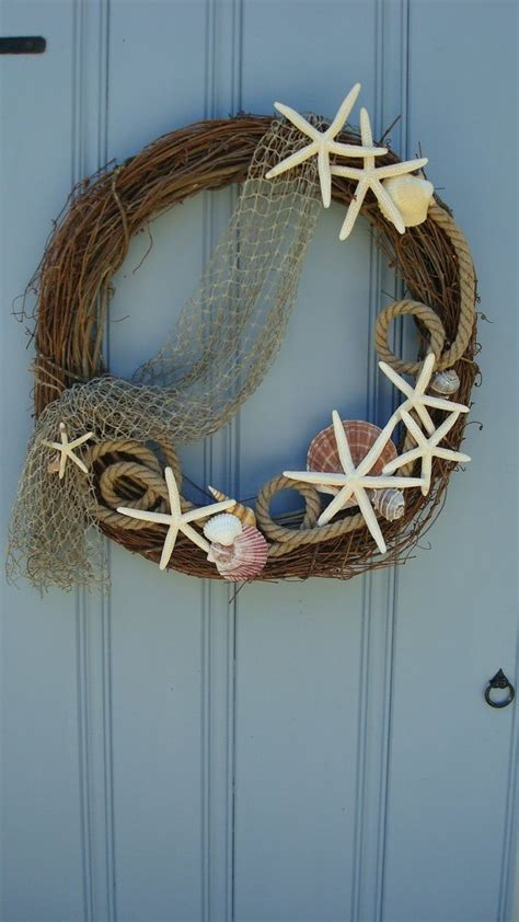 brilliant beach themed wreath ideas sortra