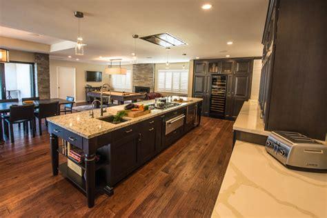 Saratoga Modern Prairie Ranch Remodel  Modern Kitchen