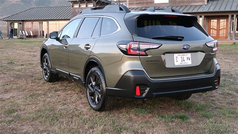 subaru outback 2020 review 2020 subaru outback review tried and true but new where
