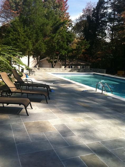 Best 25  Concrete Deck ideas on Pinterest   Wood stamped