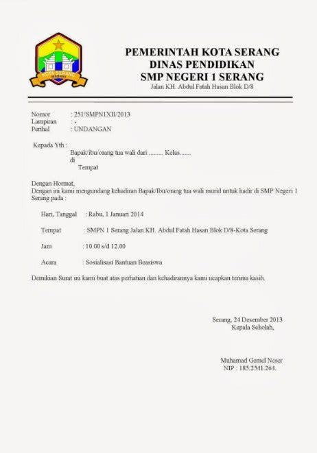 Contoh Perbedaan Undangan Indonesia Dan Inggris by 25 Contoh Undangan Formal Bahasa Indonesia Dan Inggris