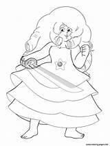 Steven Universe Coloring Pages Rose Printable Jasper 1200px Popular 94kb sketch template