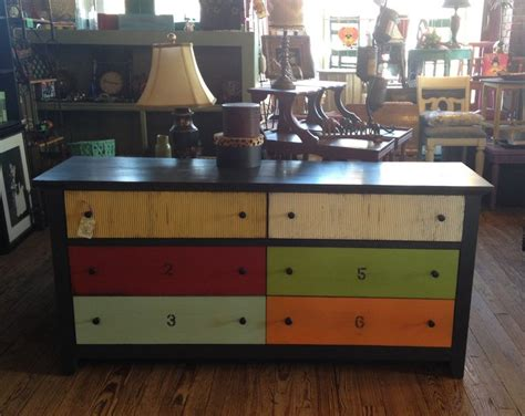 colored dressers multi colored dresser furniture pinterest