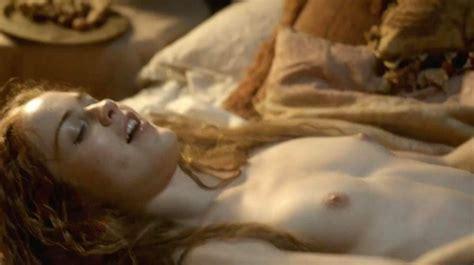 Hera Hilmar Nude Sex Scene From Da Vincis Demons Scandal Planet
