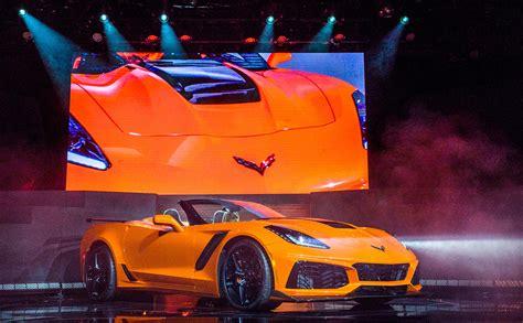 Chevrolet Drops The Top On 2019 Corvette Zr1 Convertible