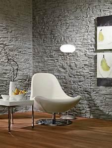 Wand Mit Steinoptik : wand mit kunststoff paneele wandverkleidung ~ Markanthonyermac.com Haus und Dekorationen