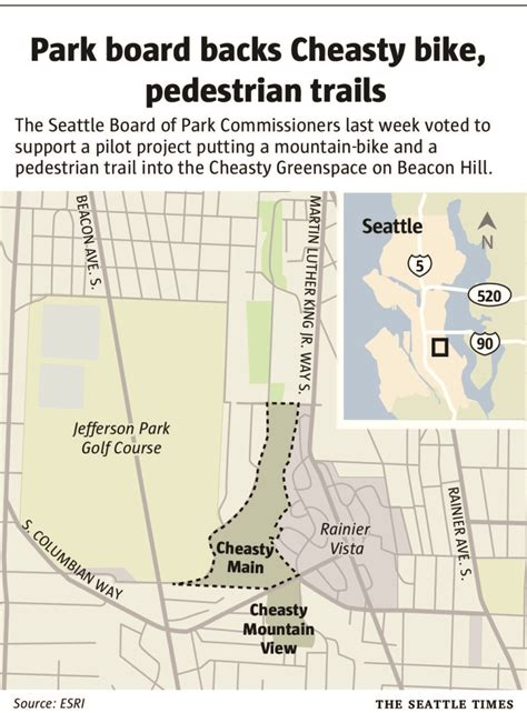 Looking for mountain bike trails closer to seattle? Park board backs South Seattle mountain-bike trail   The Seattle Times