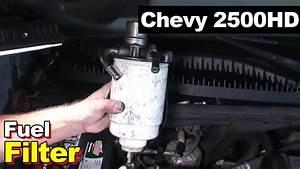 Duramax Diesel 6 6l Fuel Filter 2007 Chevrolet Silverado
