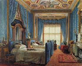 Inside Buckingham Palace Bedrooms by Mad About Interiors Antique Drapery