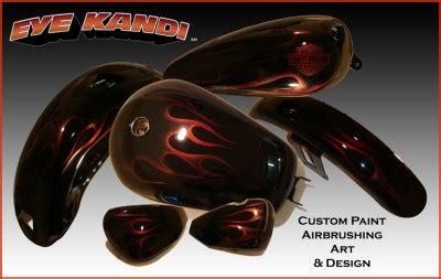 custom paint motorcycles add recessed harley motorcycle tank fender paint set custom paint