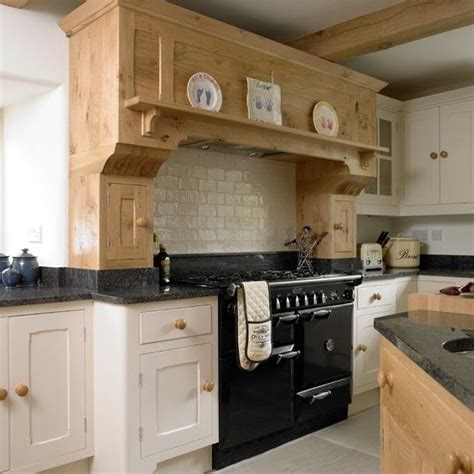 Country Kitchen With Range Cooker Designs Excellent Design