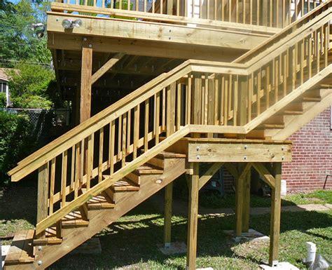 big bear construction  story wood deck