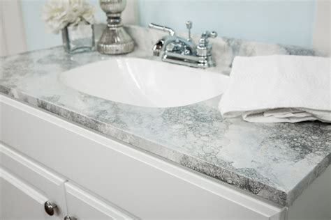 home family diy faux marble counters