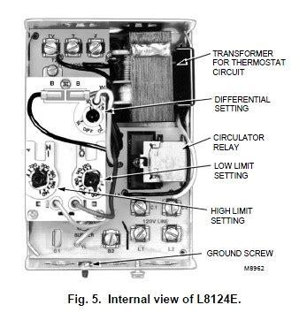 Honeywell Triple Aquastat Relay