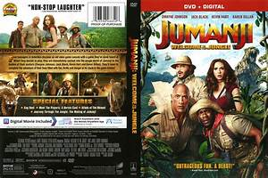 Jumanji Welcome to the Jungle (2017) : Front | DVD Covers ...