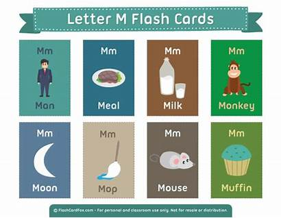 Letter Flash Cards Printable Flashcards Vocabulary Letters