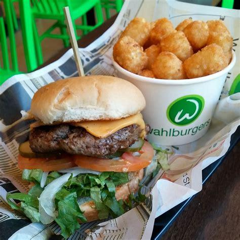 wahlburgers toronto burger open tots tater burgers