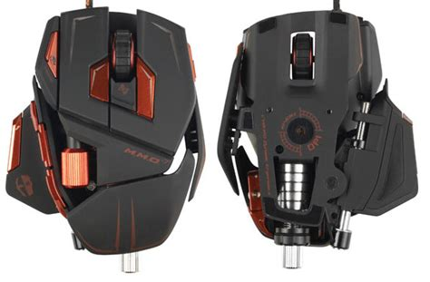 Heavy Gaming And Tech Cyborg Mmo 7 Gaming Mouse