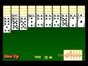 Spider Solitaire YouTube