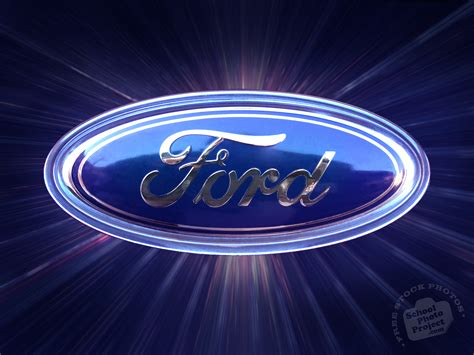 Ford Logo, FREE Stock Photo, Image, Picture: Ford Logo Car