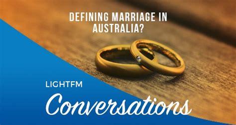 Defining Marriage in Australia?