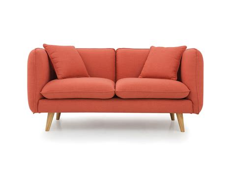 Sofa Set Sale Toronto by Newell Furniture Alesia Loveseat Orange Front Newell