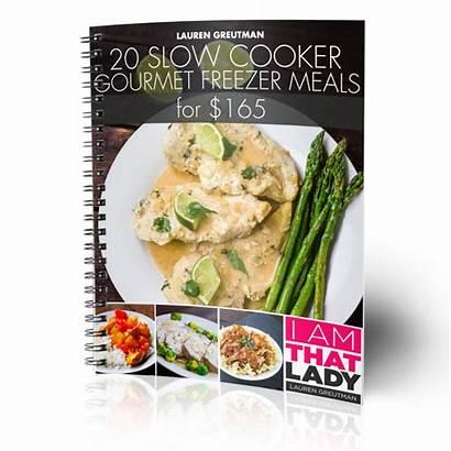 Meals Freezer Cooker Slow Gourmet Plan Laurengreutman