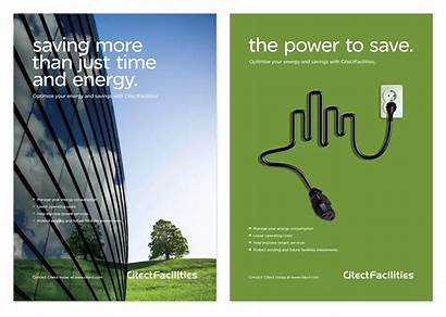 Schneider Citect B2b Electric Advertising Posters Energy