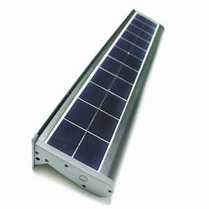 eLEDing Solar Powered 10-Watt Gray Outdoor Integrated LED ...