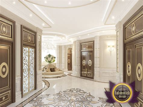 Kenyadesign Entrance Interior From Luxury Antonovich