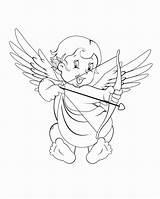 Cupid Coloring Arrow Bow Amor Cupido Printable Valentine Desenhos Dibujos Colorat Valentin Ausmalbilder Valentines Fun Pintar Sheets Colorear Sheknows Coxilanddu26 sketch template