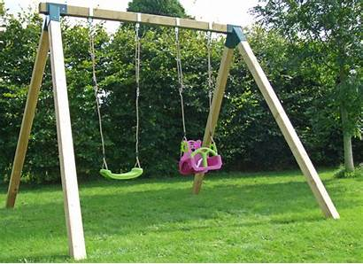 Swing Alone Stand Round Flat Pack Poles