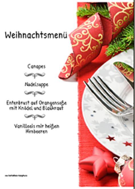 menuekarten weihnachten menuekarten weihnachten ausdrucken
