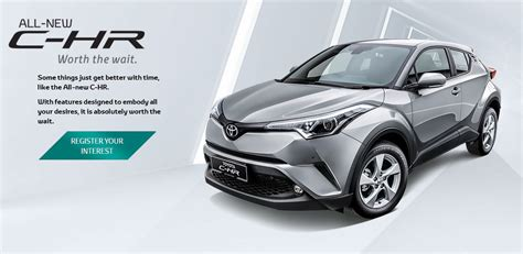 website toyota toyota c hr appears on toyota malaysia website 1 8l cvt