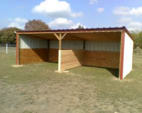 loafing sheds custom barns and storage buildings built