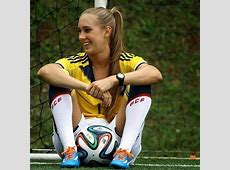 Top 10 most beautiful women footballers BeSoccer