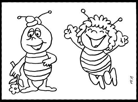 Biene Maja Und Willi Ausmalbild & Malvorlage (sonstiges