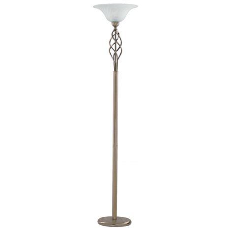 uplighter l floor light 6021ab brass