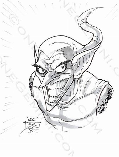 Goblin Coloring Pages Template Sketch