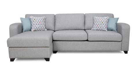 chaise com lydia left facing chaise end 3 seater sofa dfs